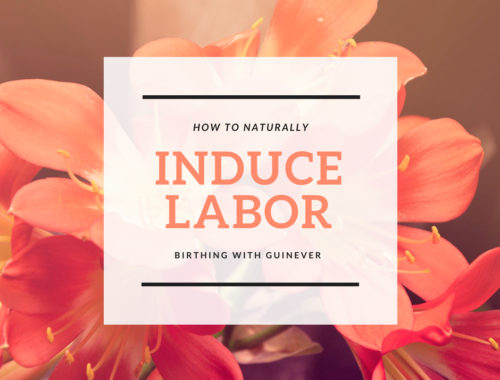 how to induce labor naturally